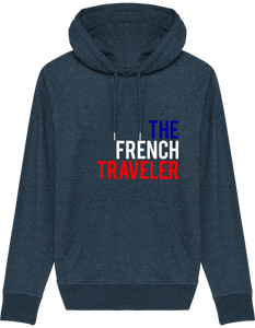 Hoodie Sweatshirt - THEFRENCHTRAVELER - TRICOLORE - The French Traveler Store