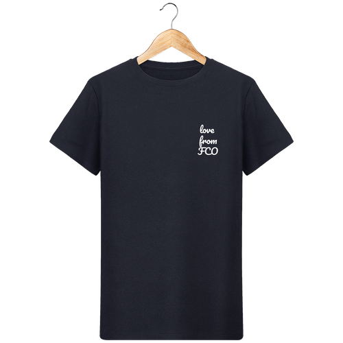T-Shirt Col Rond THEFRENCHTRAVELER - Love From FCO - The French Traveler Store