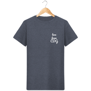 T-Shirt Col Rond THEFRENCHTRAVELER - Love From CDG - The French Traveler Store