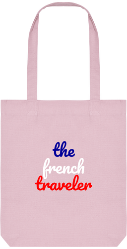 Tote Bag en coton bio - THEFRENCHTRAVELER - - The French Traveler Store