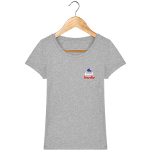 Charger l'image dans la galerie, Tee Shirt Femme en coton Bio - THEFRENCHTRAVELER - Le Classic - The French Traveler Store