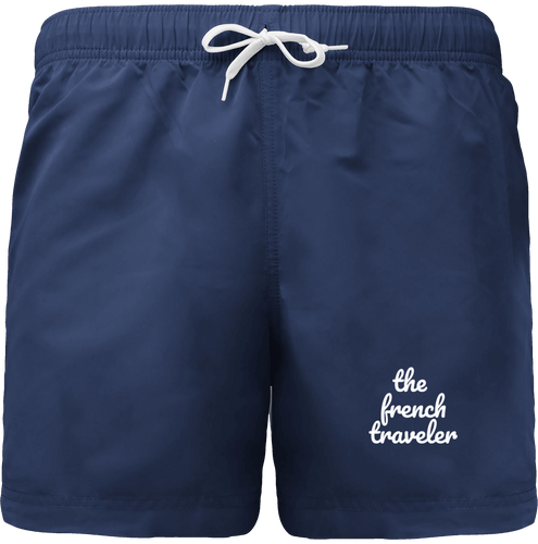 Short de Bain - THEFRENCHTRAVELER - Brodé - The French Traveler Store