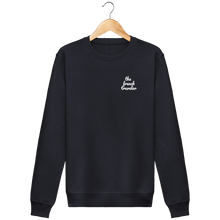 Charger l'image dans la galerie, Sweat Col rond Unisex - THEFRENCHTRAVELER - Coton Bio - Brodé - The French Traveler Store