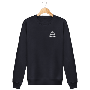 Sweat Col rond Unisex - THEFRENCHTRAVELER - Coton Bio - Brodé - The French Traveler Store