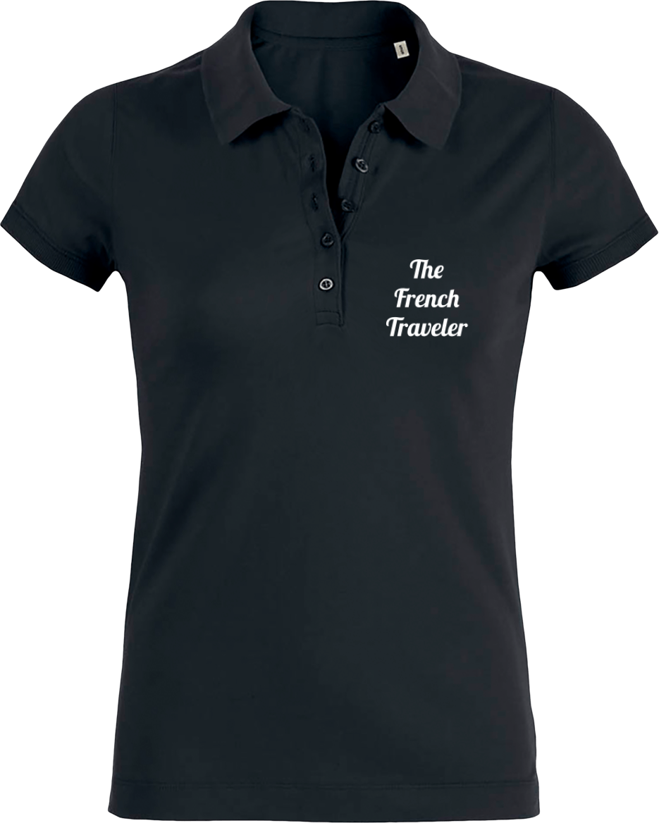 Polo Femme Bio - THEFRENCHTRAVELER - Classique - The French Traveler Store