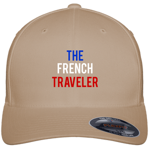 Casquette Baseball The French Traveler - Brodée - Tricolore - The French Traveler Store