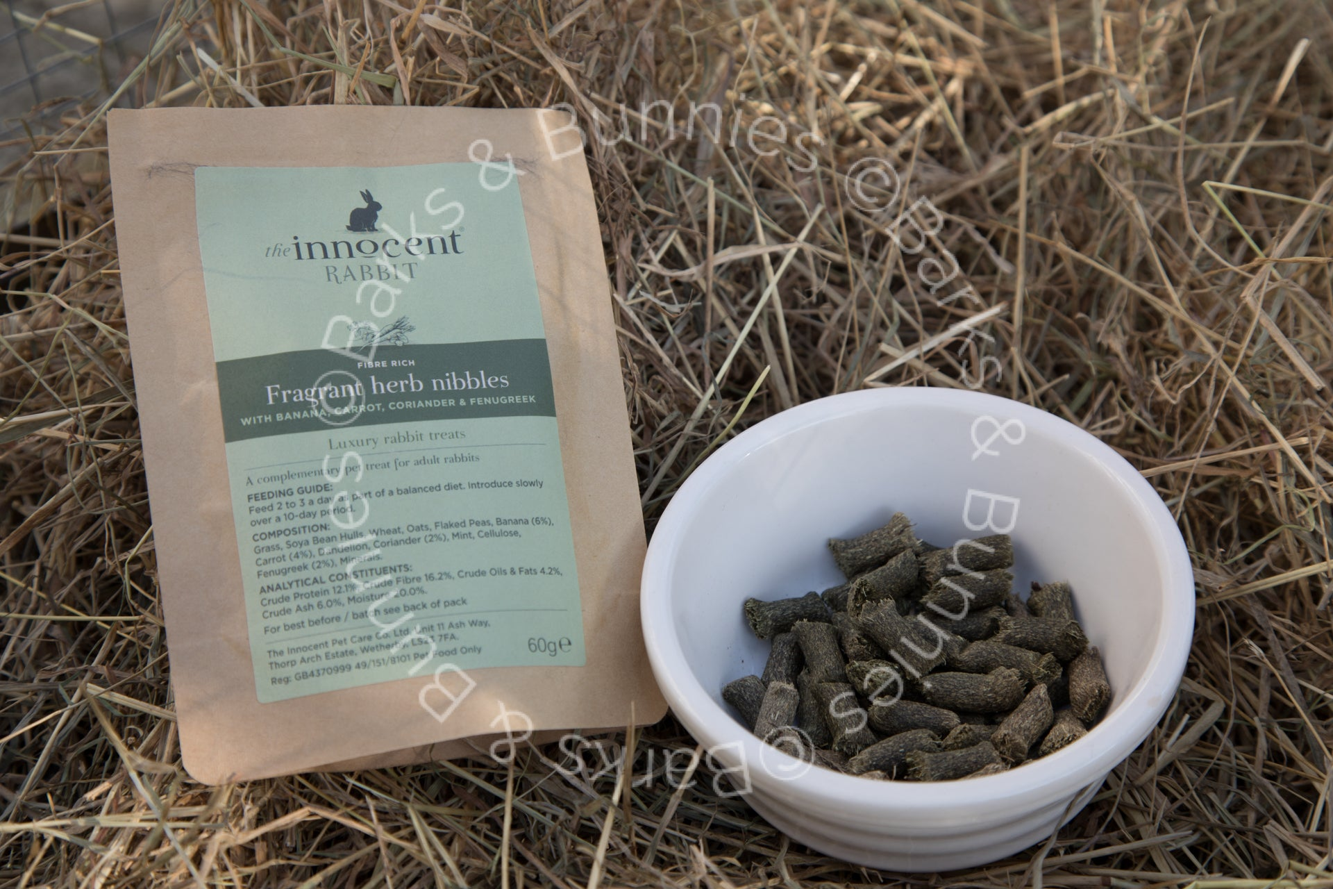 INNOCENT RABBIT FRAGRANT HERB NIBBLES REVIEW