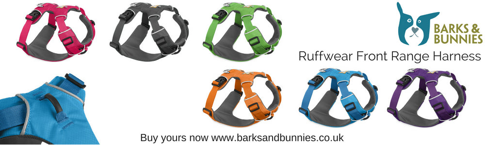 Ruffwear Front Range Harness UK 2017 | Barks & Bunnies