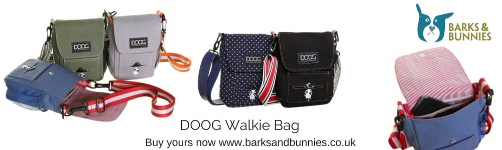 DOOG Walkie Bag Dog Walking Bag | Barks & Bunnies