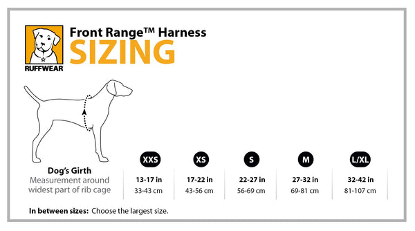 Image result for front range harness sizing