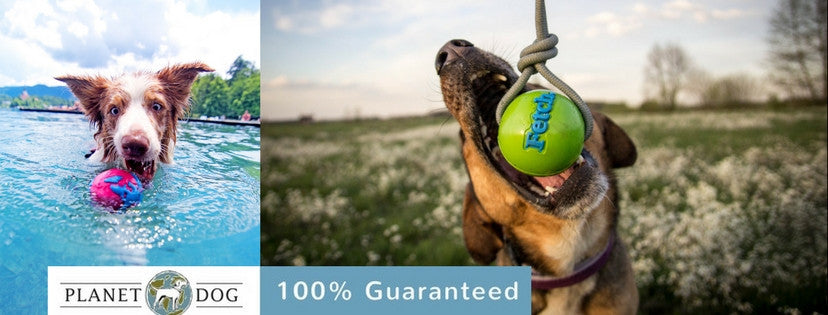 Planet Dog Tough Dog Toy Guarantee