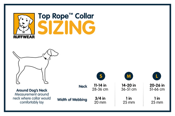 Ruffwear Top Rope Dog Collar 2016