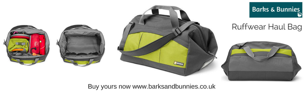 Ruffwear Haul Bag Review, Dog Travel Bag | Barks & Bunnies UK