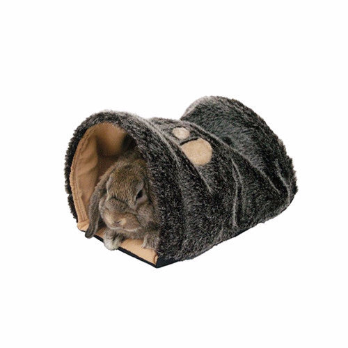 Rosewood Reversible Snuggle Tunnel bed for rabbits & small animals | Barks & Bunnies