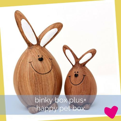 Happy Rabbit Binky Box PLUS Rabbit Subscription Box | Barks & Bunnies