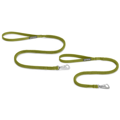 Ruffwear Ridgeline Lead Forest Green 2018, Stretchy Dog Lead | Barks & Bunnies