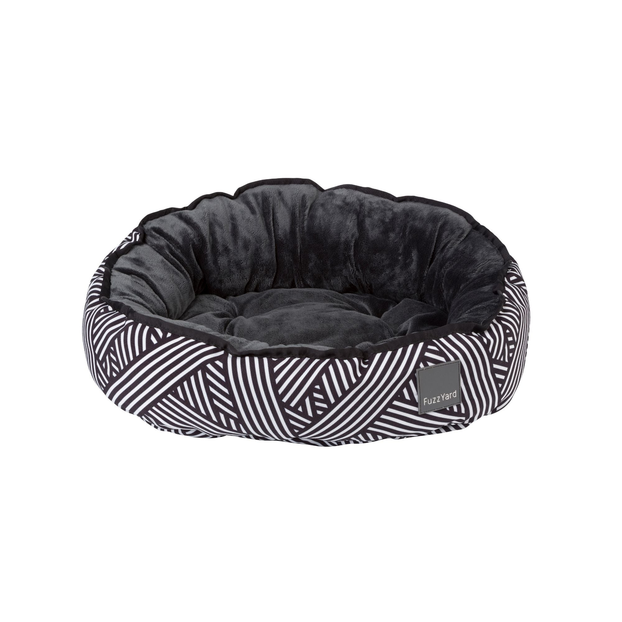 Fuzzyard Northcote Dog Bed, Reversible Fabrics | Barks & Bunnies