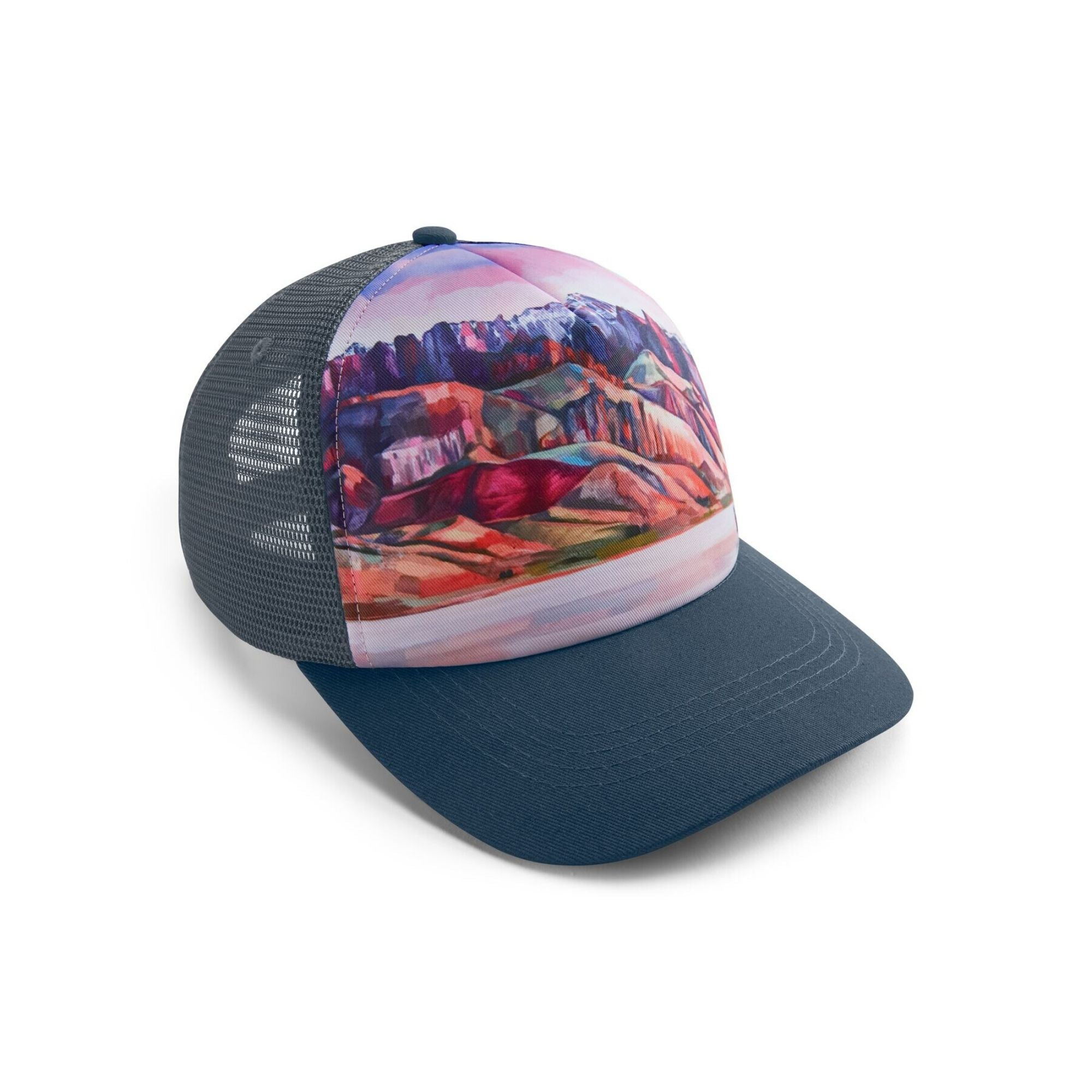 Trucker Hat The Artist Series Collapsable Water Dog & Food Bowl | Barks & Bunnies