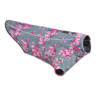 Ruffwear Climate Changer Blossom Flowers, Winter Fleece Dog Coat | Barks & Bunnies