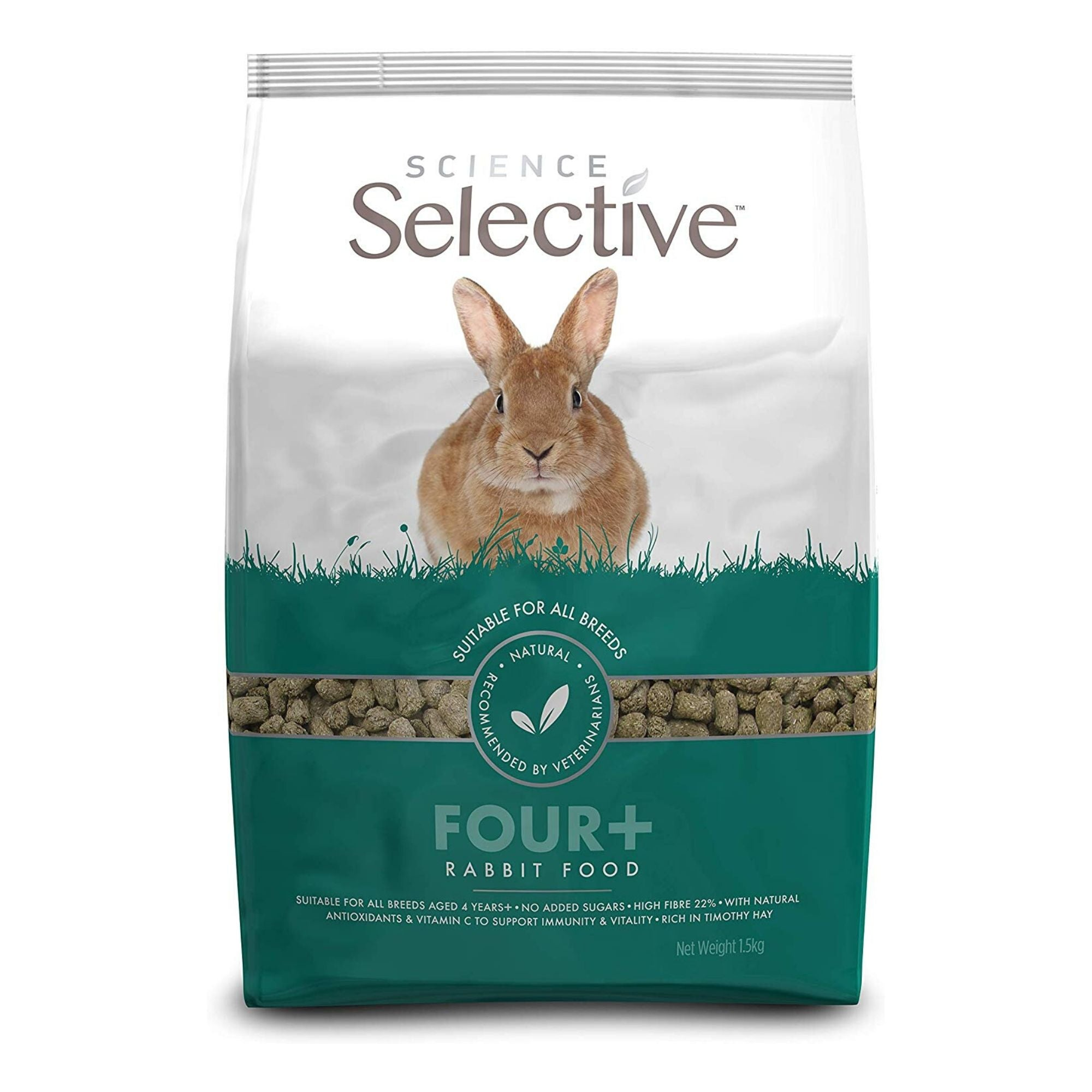 Supreme Science Selective Mature Rabbit 4+ | Barks & Bunnies