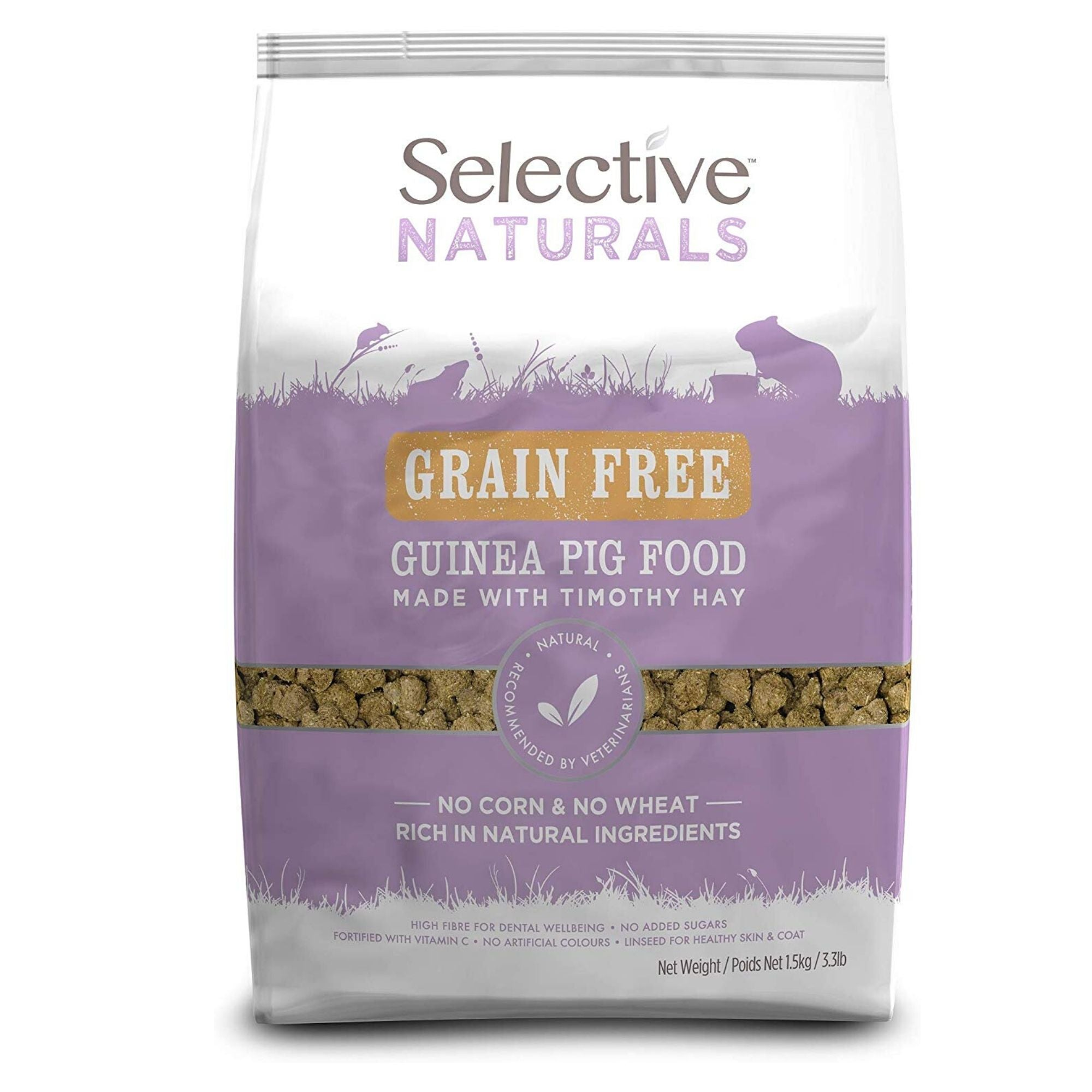 Supreme Science Selective Naturals Grain Free Guinea Pig Food | Barks & Bunnies