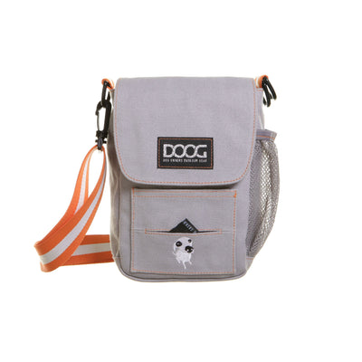 DOOG Walkie Bag Grey, Cross Body Dog Walking Bag | Barks & Bunnies
