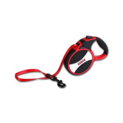 Kong Explore Retractable Dog Lead Red | Barks & Bunnies