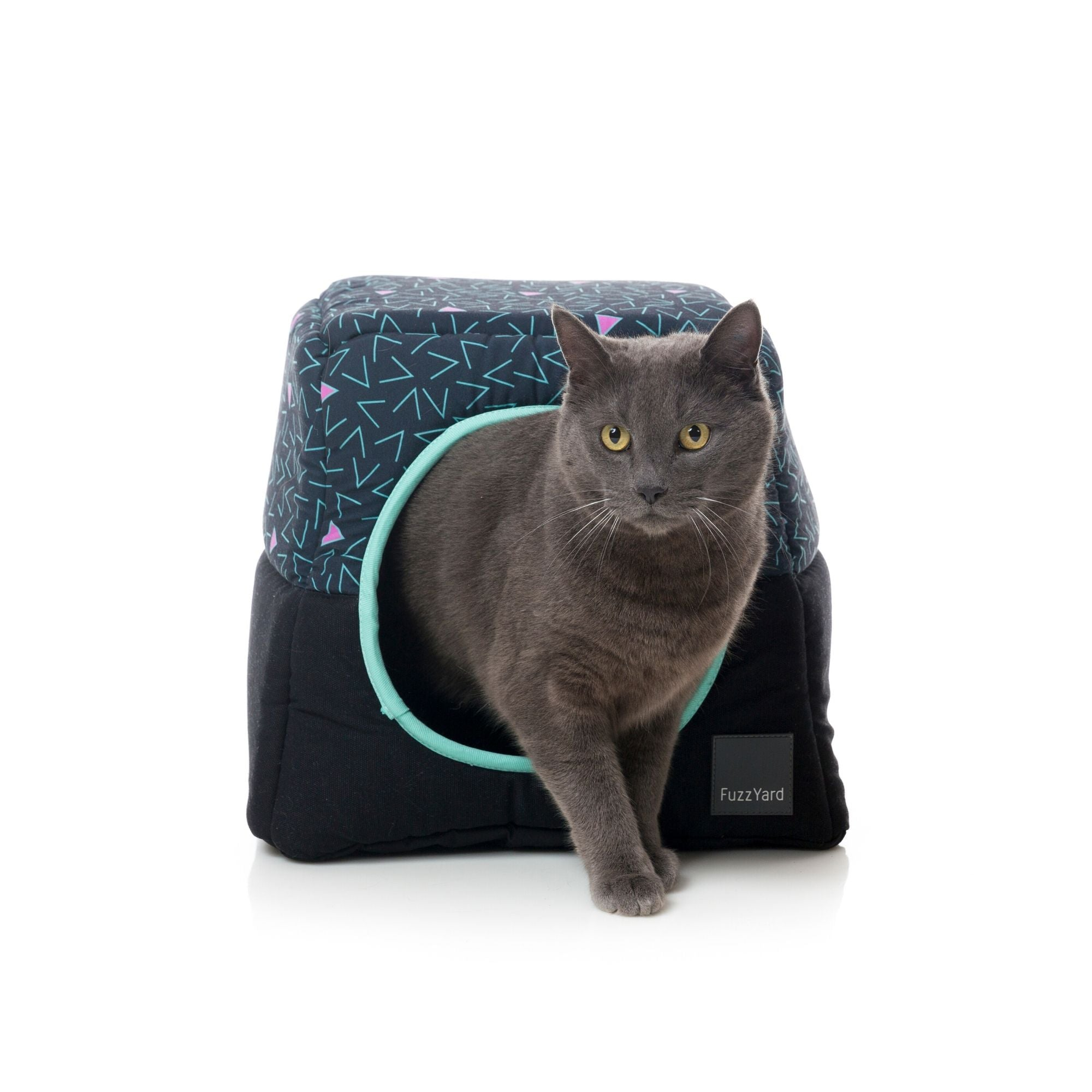 Fuzzyard Voltage Cat Cubby, Designer Cat Bed | Barks & Bunnies