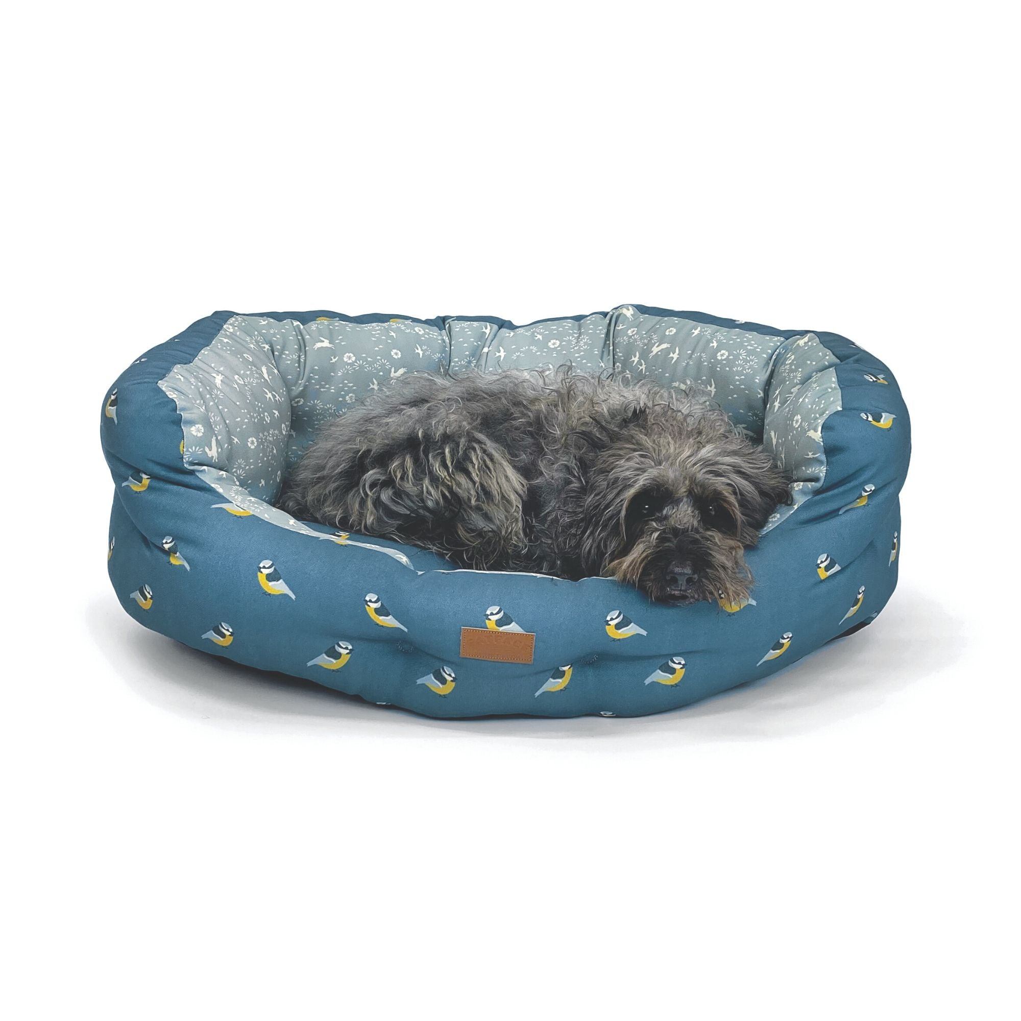 Fat Face Flying Birds Dogs Deluxe Slumber Dog Bed by Danish Design | Barks & Bunnies