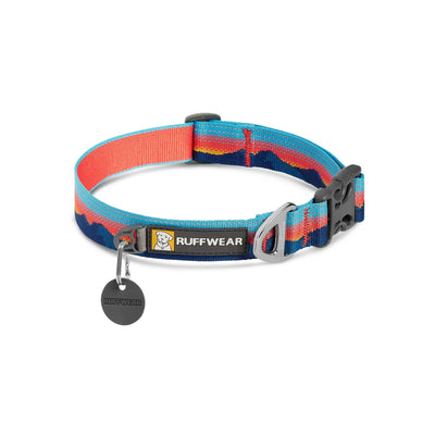 Ruffwear Crag Collar Sunset, Durable Dog Collar | Barks & Bunnies