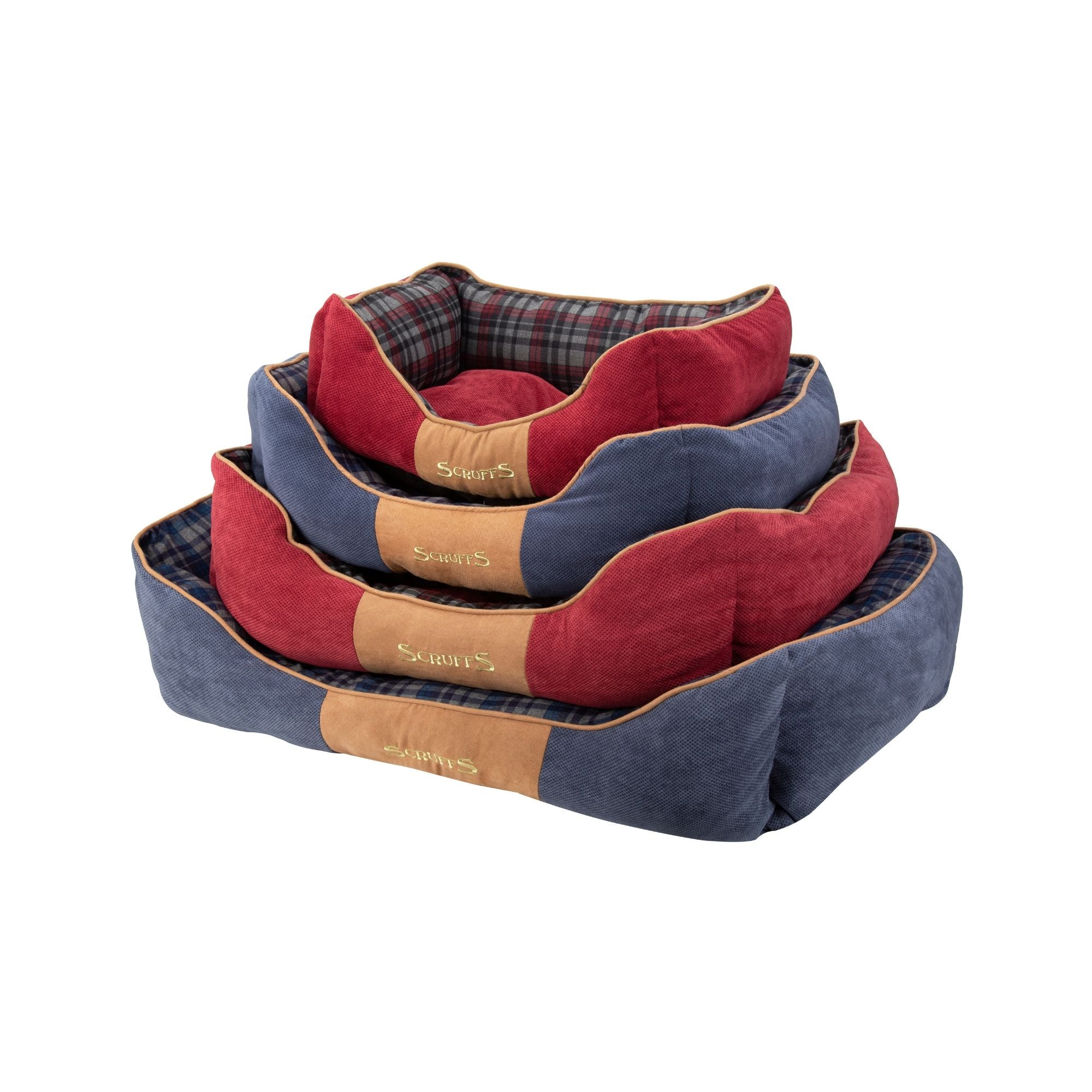 Scruffs Highland Box Bed, Pet Dog Bed | Barks & Bunnies