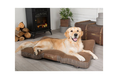 Scruffs Windsor Mattress, Tweed Dog Bed | Barks & Bunnies