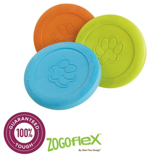 Zogoflex Zisc, Soft Dog Frisbee Indestructible | Barks & Bunnies