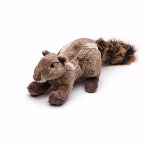 Fluff & Tuff Peanut Chipmunk, Durable Plush Dog Toys | Barks & Bunnies