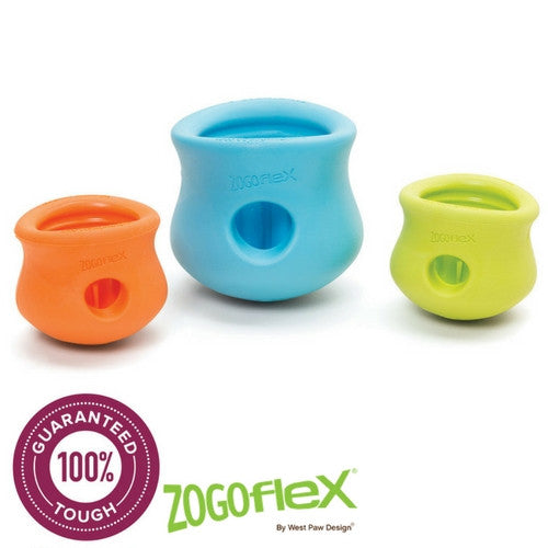 Zogoflex Toppl, Interactive Extra Tough Dog Toy | Barks & Bunnies