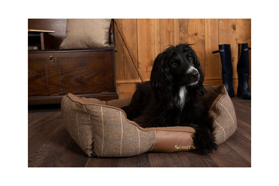Scruffs Windsor Box Bed, Tweed Dog Bed | Barks & Bunnies