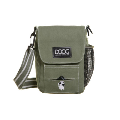 DOOG Walkie Bag Khaki, Cross Body Dog Walking Bag | Barks & Bunnies