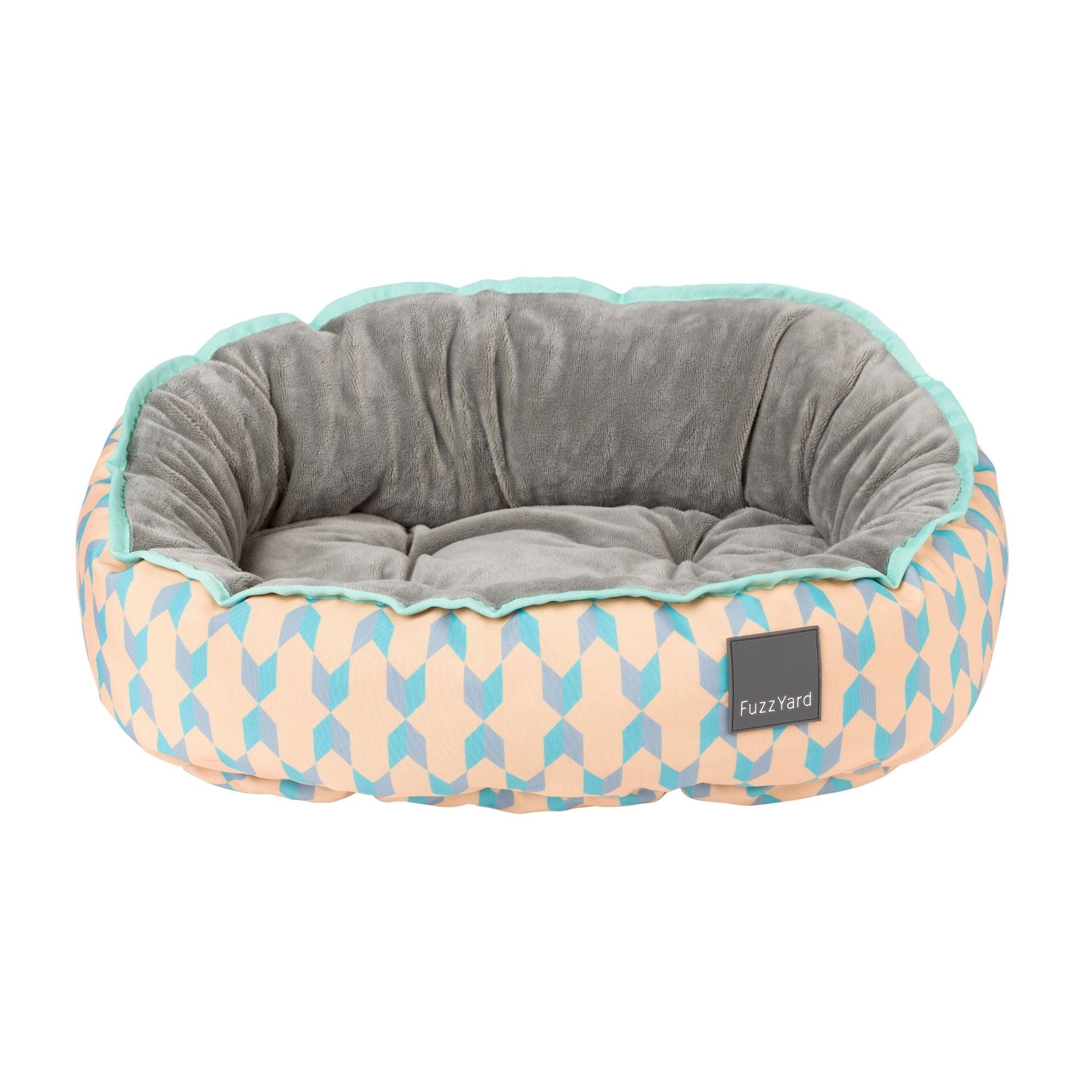 Fuzzyard Chelsea Dog Bed, Reversible Fabrics | Barks & Bunnies