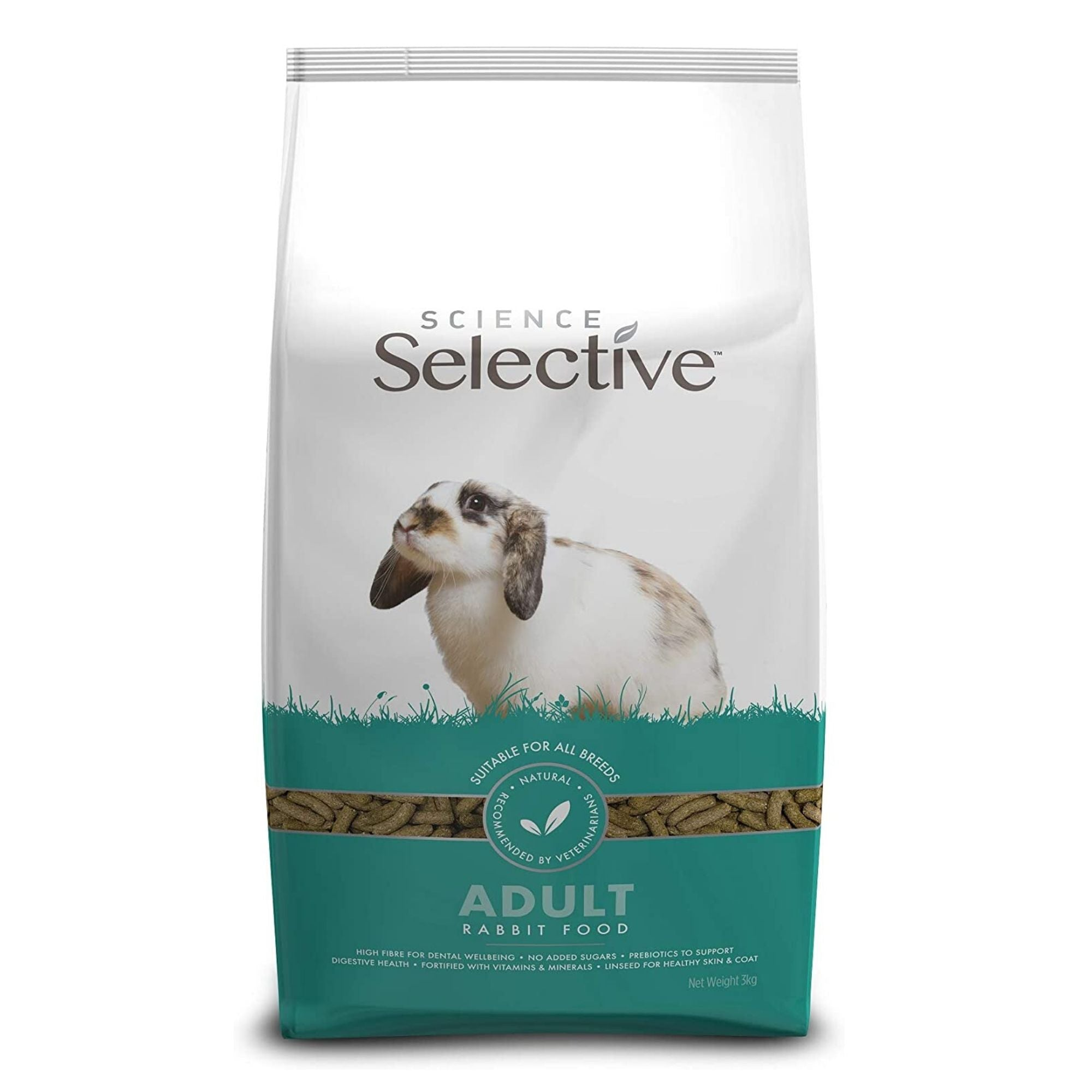 Supreme Science Selective Adult Rabbit Food | Barks & Bunies