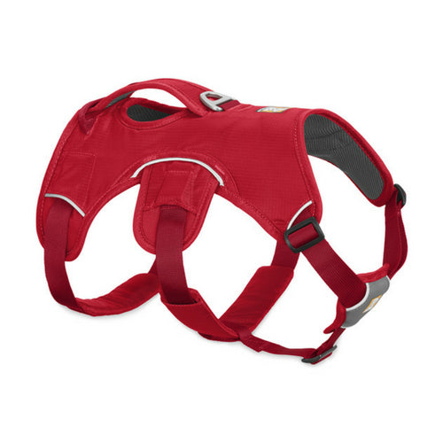Ruffwear Web Master Red Currant Harness for Dogs with Handle 2017 | Barks & Bunnie
