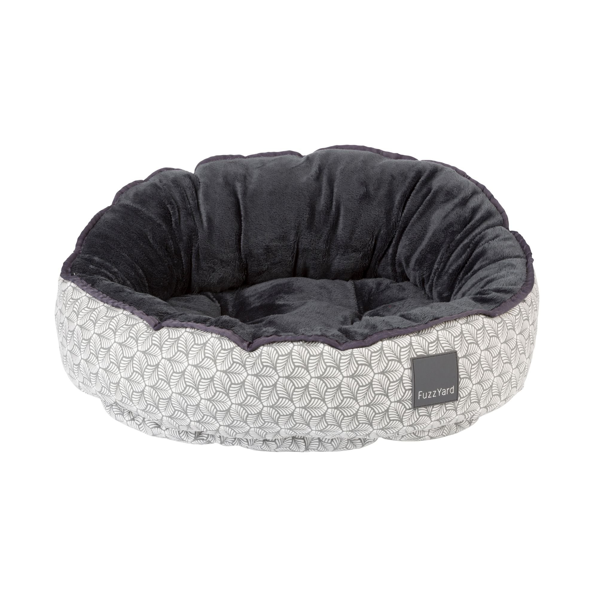 Fuzzyard Fandango Dog Bed, Reversible Fabrics | Barks & Bunnies