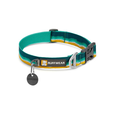 Ruffwear Crag Collar Seafoam, Durable Dog Collar | Barks & Bunnies