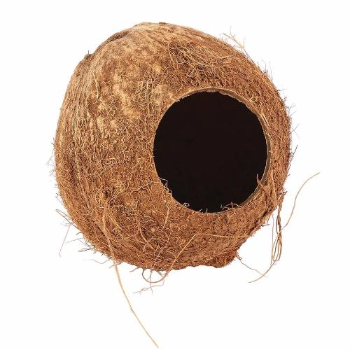 Happy Pet Nature First Coconut Hut for Hamsters & Mice | Barks & Bunnies
