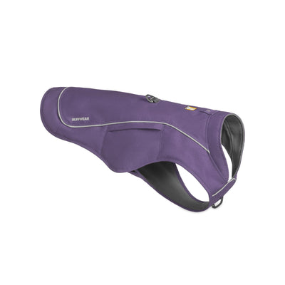 Ruffwear Overcoat Fuse Purple Sage, Dog Coat with Built-in Harness | Barks & Bunnies