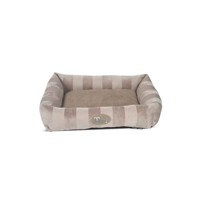 Scruffs ArisoCat Lounger Beige, Extra Small Dog Bed, Cat Bed | Barks & Bunnies