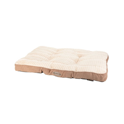 Scruffs Ellen Mattress Pet Bed Tan, Warm Tweed Dog Bed | Barks & Bunnies