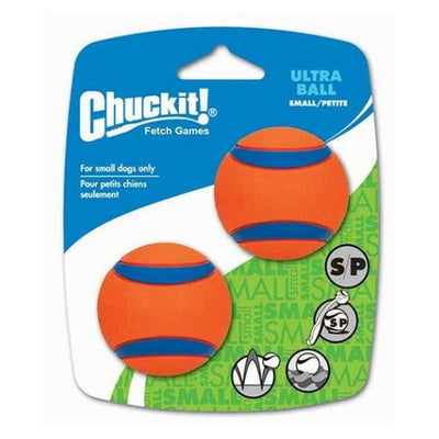 Chuckit Ultra Ball Small, Durable Dog Ball Toy | Barks & Bunnies
