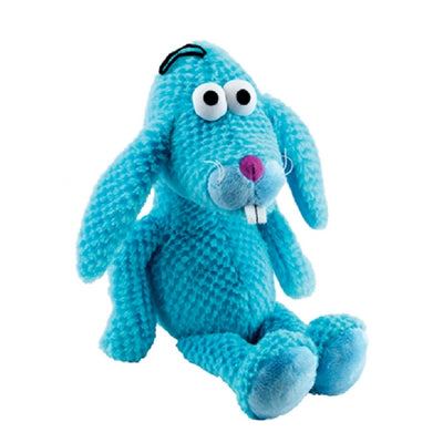 Gor Pets Goofy Dog Toy Blue Bunny, Super Soft, Plush Dog Toy | Barks & Bunnies