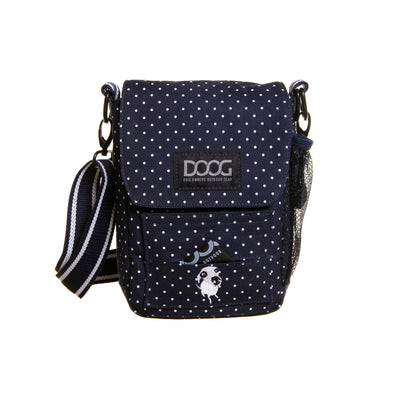 DOOG Walkie Bag Navy Blue, Cross Body Dog Walking Bag | Barks & Bunnies