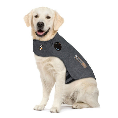 Thundershirt Classic Grey Dog Anxiety Coat, Money Back Guarantee | Barks & Bunnies